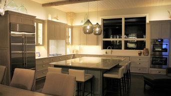Franklin Grove Residence: Kitchen Cabinets & Living Rm & Dining Rm Built In's