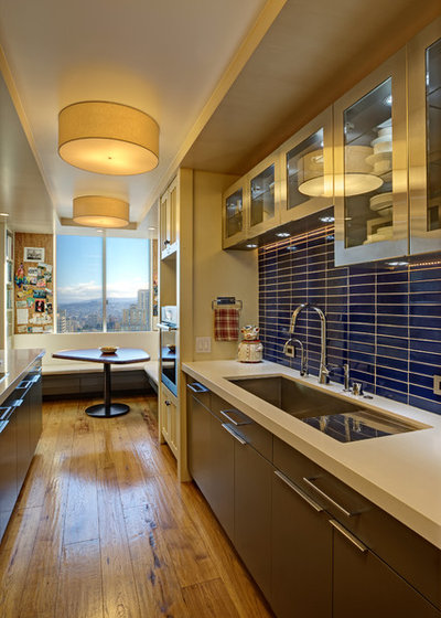 Contemporary Kitchen by Kaplan Architects, AIA