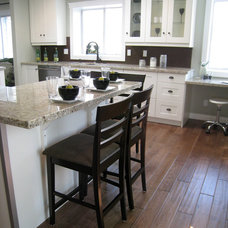 Traditional Kitchen by Craftsmen Contracting