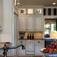 traditional kitchen by Tobi Fairley Interior Design
