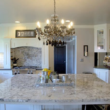 Traditional Kitchen by Lesher Natural Stone, Quartz, & Tile