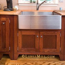 Traditional Kitchen by Lizell Mill Studio & Furniture Company