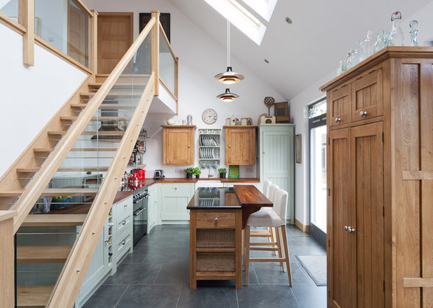 Traditional Kitchen by The Freestanding Kitchen Company