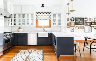 Houzz Tour: Custom Furnishings Abound in a Historic Seattle House