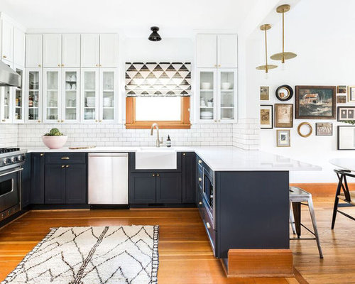 Kitchen Peninsula Ideas Mesmerizing Top 100 Kitchen With A Peninsula Ideas & Remodeling Photos  Houzz Inspiration Design