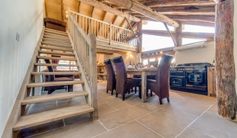 French Alps stone flooring project