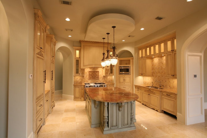 Traditional Kitchen by Amitha Verma Interior Design, LLC