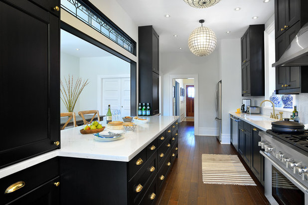 Traditional Kitchen by BedfordBrooks Design Inc.