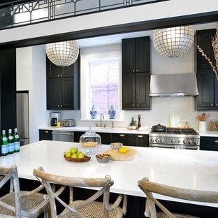 French Bistro Inspired Kitchen (Riverdale, Toronto)