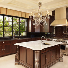Traditional Kitchen by Ocean Blue Custom Homes