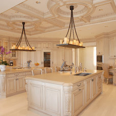 Traditional Kitchen by Roy Sklarin Interiors