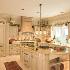 Mediterranean Kitchen by Colonial Craft Kitchens, Inc