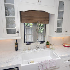 Eclectic Kitchen by Stonebrook Design Build