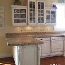 traditional kitchen by Burlap & Denim