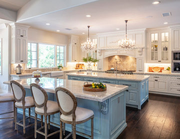 French Country Chateau Custom Home