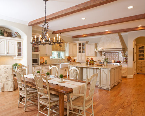 French Country Kitchen Home Design Ideas, Pictures