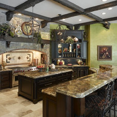 Traditional Kitchen by Dave Brewer Homes