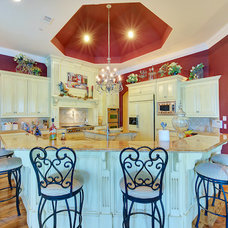 Traditional Kitchen by Michael Garabedian