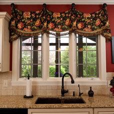 Traditional Kitchen by J. Gauker Interiors LLC