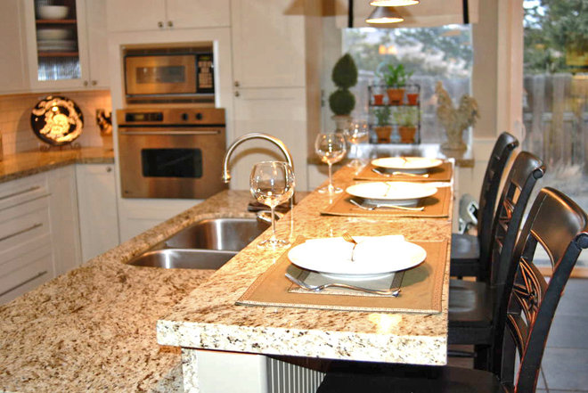 Traditional Kitchen by Judith Balis Interiors