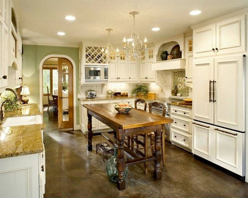 French Country Kitchen Design Pictures