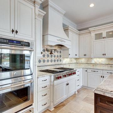 French Country Kitchen Design Spotsylvania, VA by Reico Kitchen & Bath