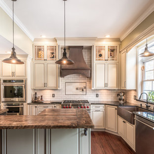 French Country Kitchen in Clifton Park