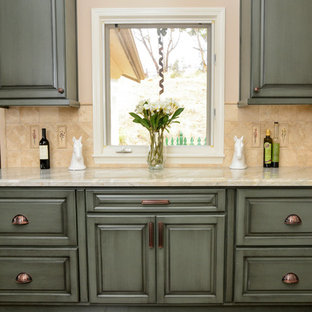 French Country Kitchen in Encinitas/Olivenhain CA Remodel