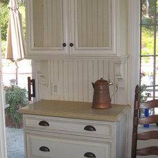 Mediterranean Kitchen by Remington Construction Services
