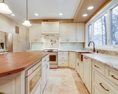 French Country Kitchen Remodel Woodbridge Va
