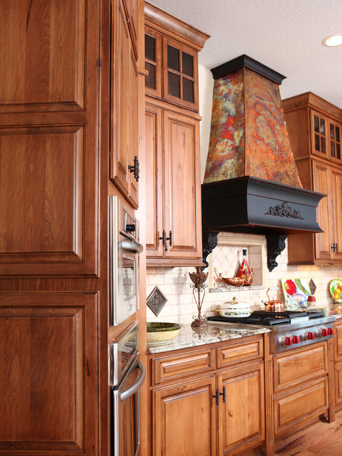 Rustic Beech Kitchen Cabinet With Photo Medium Size Saveemail
