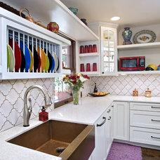 Eclectic Kitchen by UB Kitchens - San Antonio