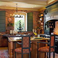 Eclectic Kitchen by Wilson Kelsey Design