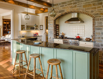French Country Lake Retreat