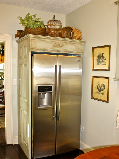 Enclosed Refrigerator Home Design Ideas, Pictures, Remodel and Decor
