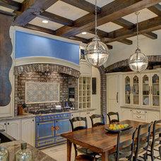 Mediterranean Kitchen by DSI-designs
