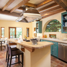 Mediterranean Kitchen by Peter Lyons Photography