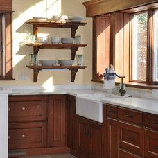 Traditional Kitchen by Elan Interiors, LLC