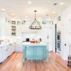 Farmhouse Kitchen by Madison Custom Cabinets