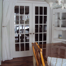 Traditional Kitchen French Doors