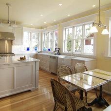 Traditional Kitchen by Kaja Gam Design, Inc. & KGHome
