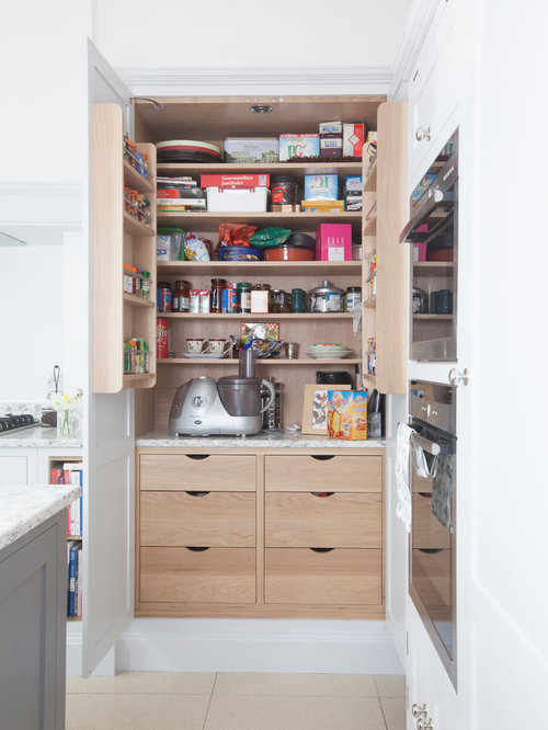 Small Cabinet Faced Appliances Kitchen Pantry Design Ideas & Remodel Pictures   Houzz