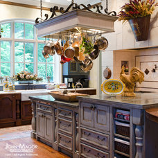 Mediterranean Kitchen by Cabell Design Studio