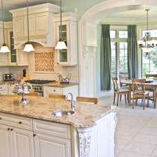 Traditional Kitchen by Paul Lopa Designs