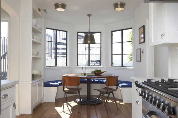 トランジショナル キッチン by Tim Barber Ltd Architecture