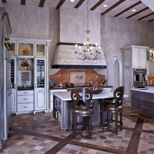 French Provincial Gourmet Kitchen