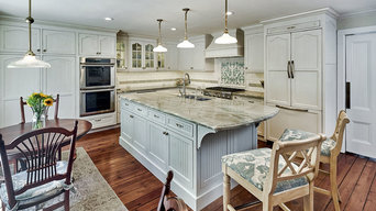 French Provincial Kitchen in Saratoga