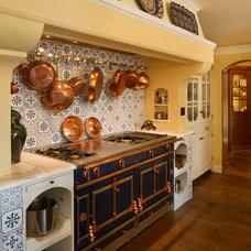 Mediterranean Kitchen by John Malick & Associates