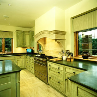 French Worldwide Traditional Hand Painted Kitchen