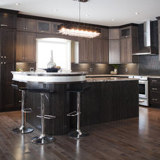Contemporary Kitchen by Fresco Interiors Design Group Inc